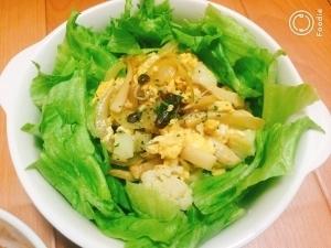 【簡単&節約】卵ときのこの温サラダ by:Ayu*さん