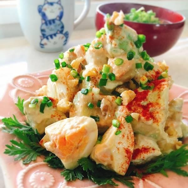 蒸し鶏とアボカドの胡桃サラダby:Misuzuさん