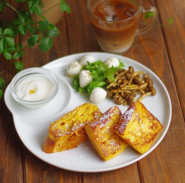 冷凍できる作り置き!朝は焼くだけ「フレンチトースト」