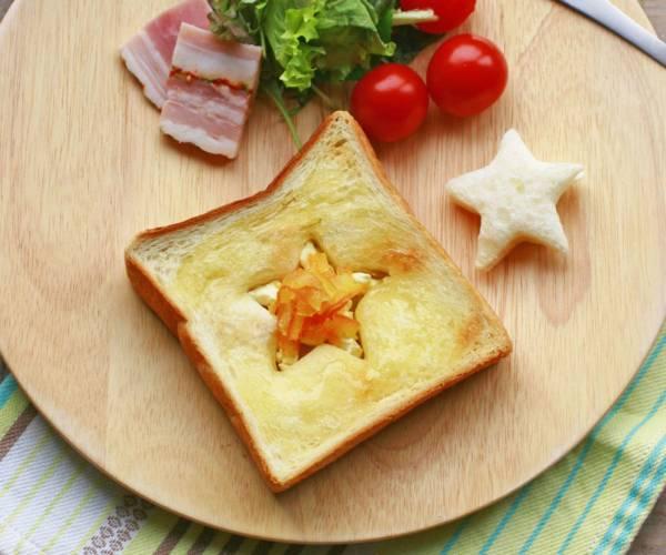 5分でキラキラ♪クリチ&ママレードでつくる「星空トースト」by:大本紀子さん