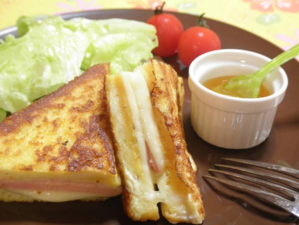 とろ~りチーズのクロックムッシュ☆by:snow kitchen☆さん
