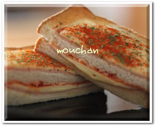 遅い朝食にクロックムッシュby:モーちゃんさん