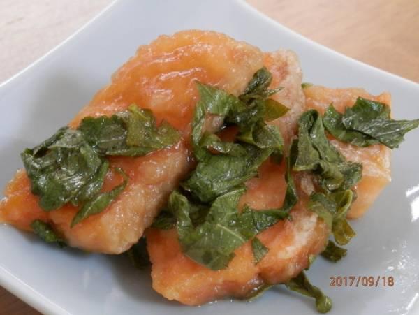 お弁当に♪おつまみに♪鮭の大葉漬けby:kaana57さん