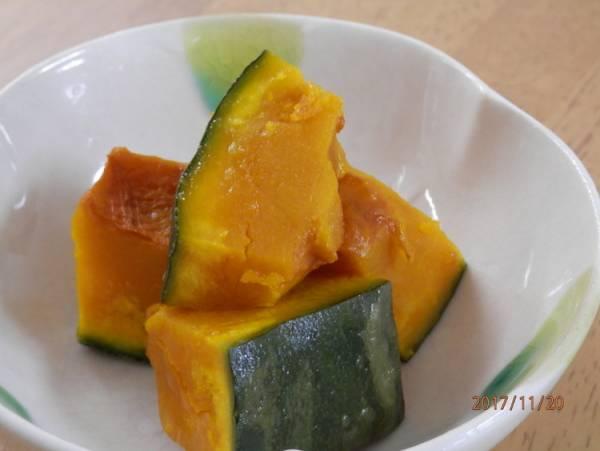 レンジで簡単☆かぼちゃのバター醤油by:kaana57さん