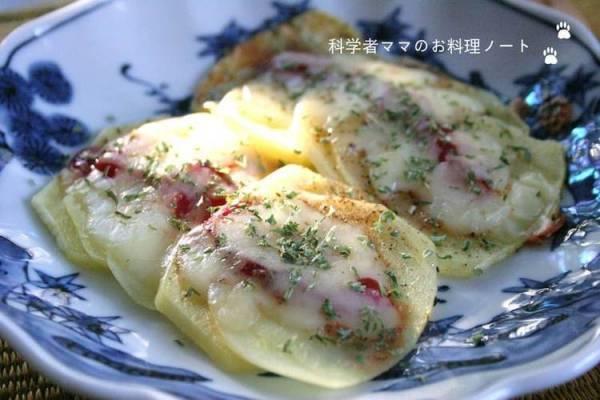 スピード朝ごはん~ジャガイモのピザ風by:nickyさん