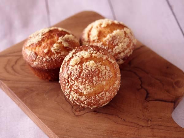 ホットケーキミックスで簡単3ステップ☆ふわふわ感動、朝食チーズマフィン♪by:めろんぱんママさん