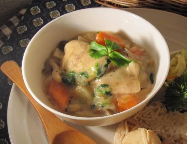 真鯛の味噌味豆乳シチュー風煮込みby:ルシッカさん