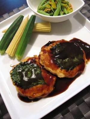 豆腐と鮭のハンバーグby:@namiさん