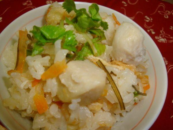 炊き込み里芋ご飯レシピ