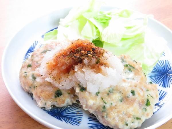 しそ入り♪豆腐ハンバーグ☆和風おろしby:kaana57さん
