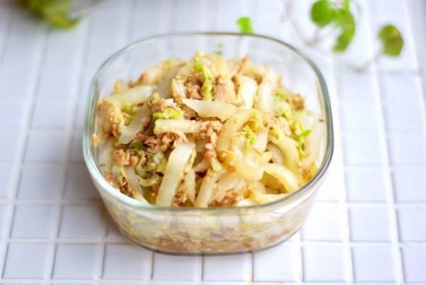 白菜を使い切る!10分で簡単「白菜とツナの中華風」の作り置きby:Mayu*さん