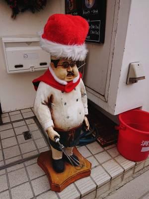 松之介前にいる人形