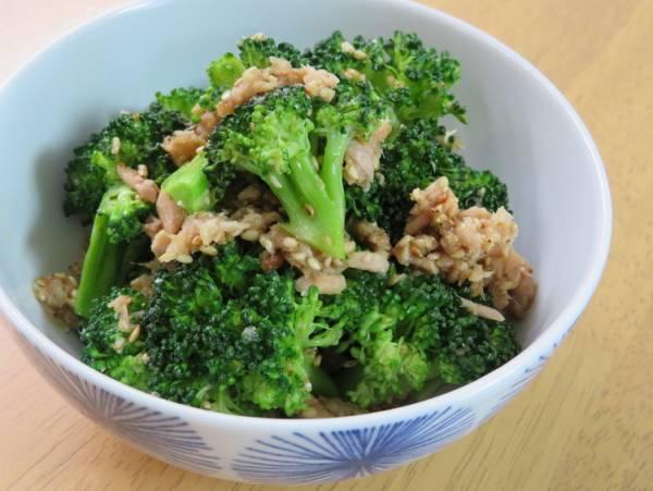 簡単和総菜☆ブロッコリ-とツナの胡麻和えby:kaana57さん