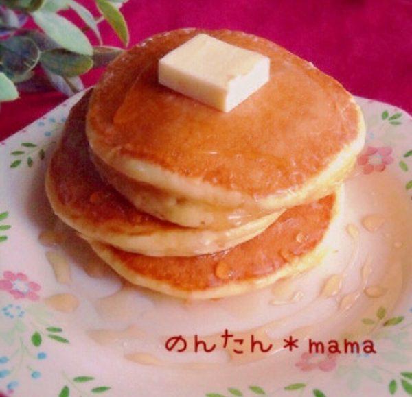 昔ながらのパンケーキ♪朝ごはんにどうぞby:のんたんママさん