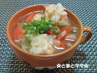 ワンタンにゅう麺by:とまとママさん