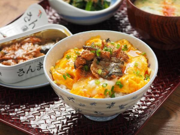 さんま蒲焼のミニ丼by:筋肉料理人さん
