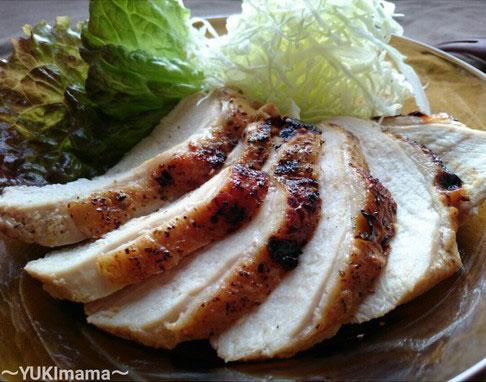 節約はやうま!~焼肉のたれで簡単~鶏むね肉のローストチキン(作りおき)by:satohahaさん