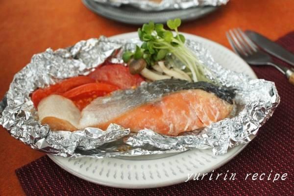 鮭の塩麹ホイル焼きby:ゆりりんさん