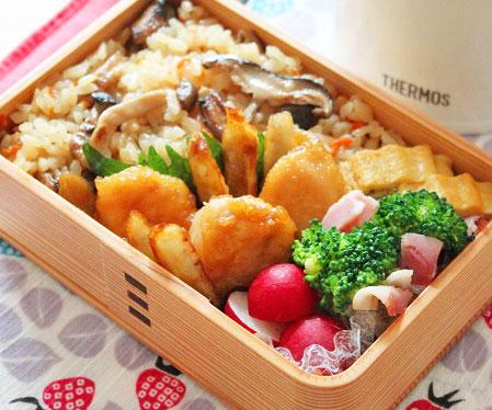 ヘルシーで美味しい!定番にしたい「ささみごぼう」のお弁当by:料理研究家 かめ代さん