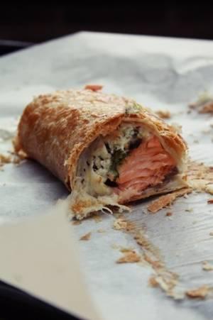 鮭&クリームチーズパイby:tkさん