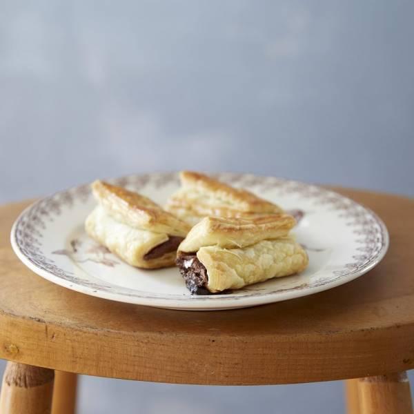 トースターで簡単!板チョコを巻いて焼くだけ「チョコクロワッサン」by:まきあやこ/Perch.