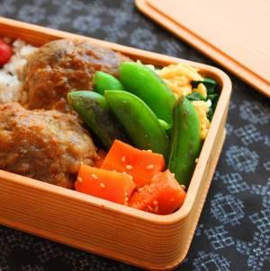 簡単おいしい野菜のお弁当おかず!「スナップえんどうのバター醤油」