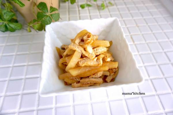 ご飯のお供にちょうどいい♪簡単おいしい「大根と油揚げの甘辛煮」by:Mayu*さん