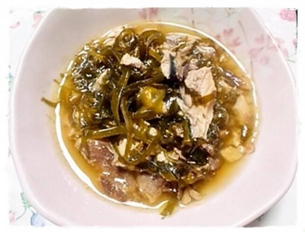 サバ水煮缶と昆布の醤油煮by:にゃこさん