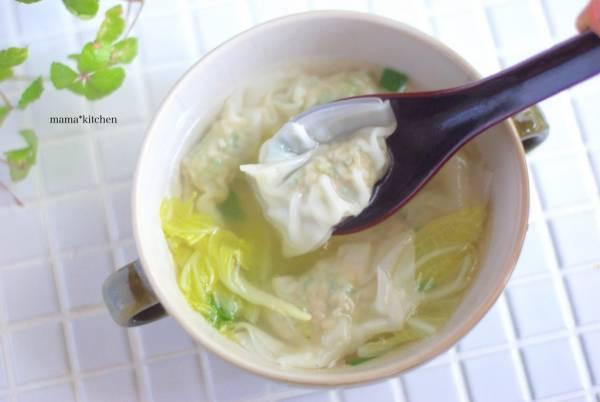 朝のワンタンスープも簡単!便利すぎる「ワンタン」の作り置きby:Mayu*さん