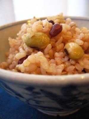 玄米豆ごはんby:PONCYANさん