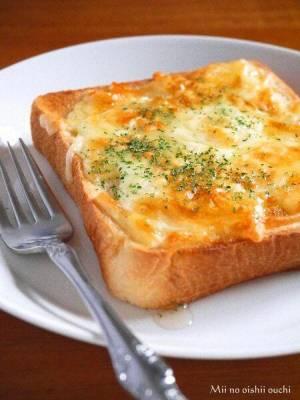 はちみつチーズトースト♪by:みぃさん