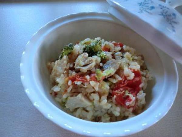 鶏肉とトマトの炊き込みご飯by:CatherineSさん
