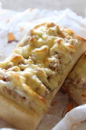 <ツナメルトサンドイッチ>byはーい♪にゃん太のママさん
