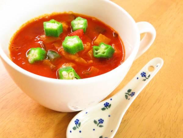 (具沢山♪夏野菜のトマトクリームスープ☆by:kaana57さん)