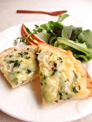 しらすと大葉のチーズトースト…by:みっこ*mikkoさん