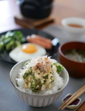 暑い朝でもサラッと食べられる!簡単「ねばねばのっけご飯」by:料理家 村山瑛子さん