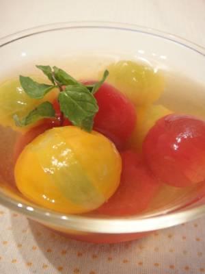 トマトの煮浸し☆by:やすへちゃんさん
