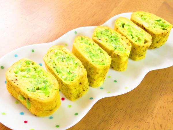 簡単☆キャベツの卵焼き♪黒胡椒風味by:kaana57さん