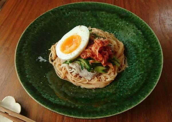 あまったそうめんをアレンジ!ピリ辛さっぱり味の「ビビン麺」by:料理家 村山瑛子さん