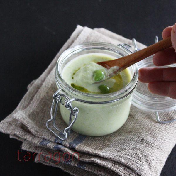 材料3つだけ。夏バテ予防に「枝豆の冷たいポタージュ」by:タラゴン(奥津純子)さん
