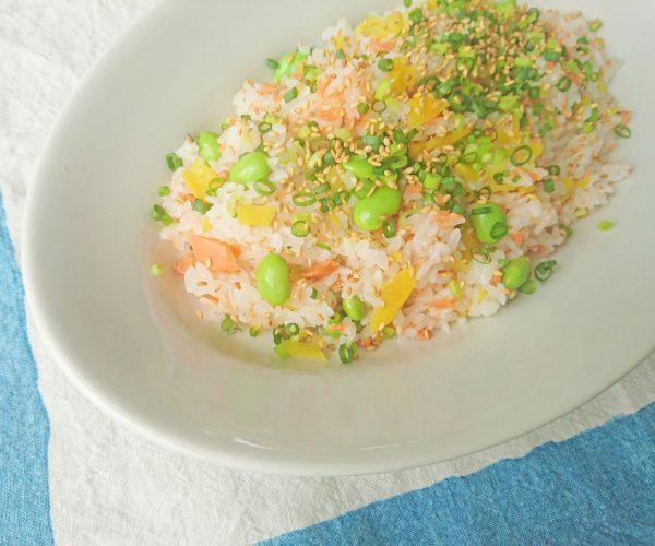 夏の朝は混ぜるだけ!さっぱりおいしい「混ぜご飯」2種by:料理家 村山瑛子さん
