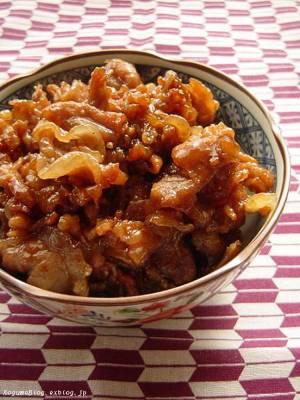 ご飯のお友に・・・豚こまの時雨煮by:kogumaさん