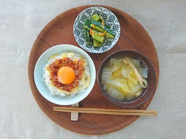 火いらずで夏にぴったり!「卵かけごはん」アレンジ4つby:料理家 村山瑛子さん