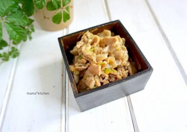 ご飯によく合う♪しびれる辛さにハマる「豚肉の花椒味噌炒め」の作り置きby:Mayu*さん