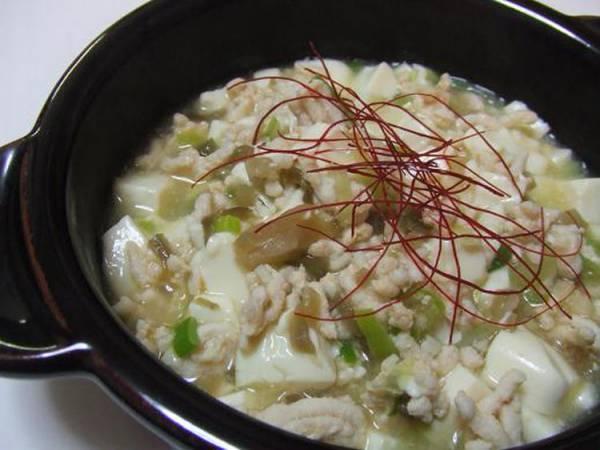 ノンオイル♪塩麻婆豆腐by:さちくっかりーさん
