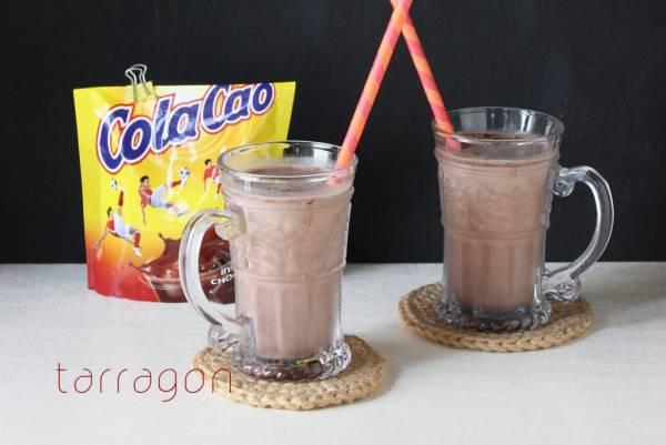 腸内環境を整える一杯♪つぶして混ぜるだけの「豆乳バナナココア」by:タラゴン(奥津純子)さん