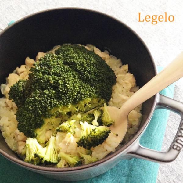 ホロホロくずれるブロッコリーと鶏ささみの炊き込みピラフby:Legeloさん