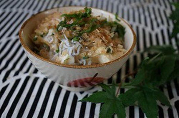豆腐とシラスのクイック丼ゴマ油風味by:ひだまりさん