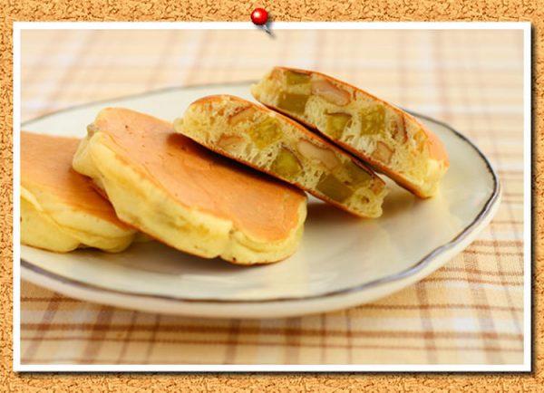 さつまいもとくるみ入りミニパンケーキ。by:おおたわ 歩美さん