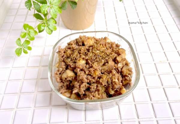 ご飯がすすむ作り置き!山椒が香る「しいたけの肉味噌ふりかけ」